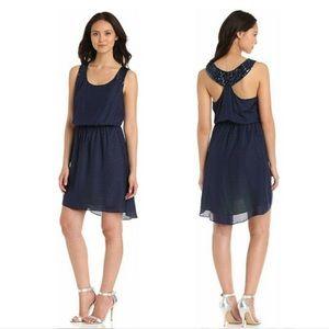 Lilly Pulitzer Calissa Sequin Navy Dress Medium